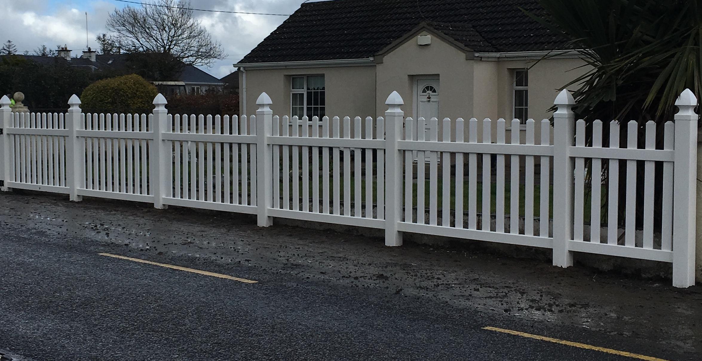 Pvc Fencing Ireland Lifetime Pvc Decking Fencing Amp Gates